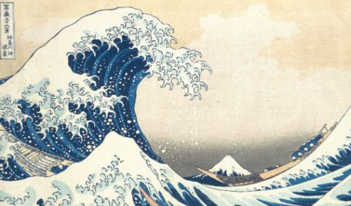 hokusai, The Great Wave off Kanagawa, 1832