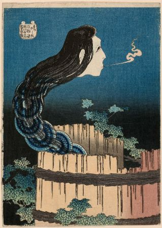 hokusai, The Mansion of the Plates, 1831-1832