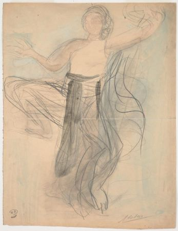 Auguste Rodin, Cambodian Dancer, 1906