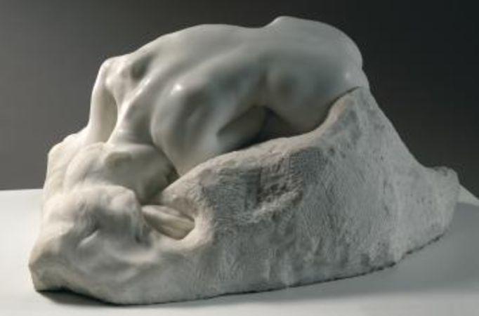 Auguste Rodin, Danaïd, 1885
