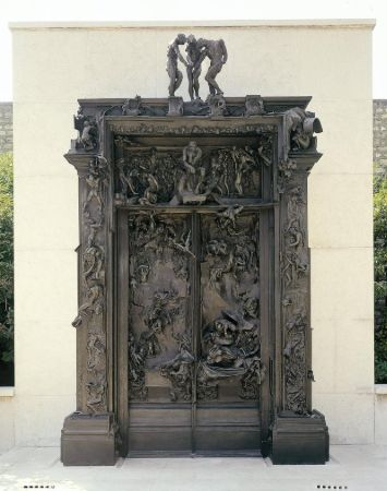 Auguste Rodin, The Gates of Hell, 1880-1917