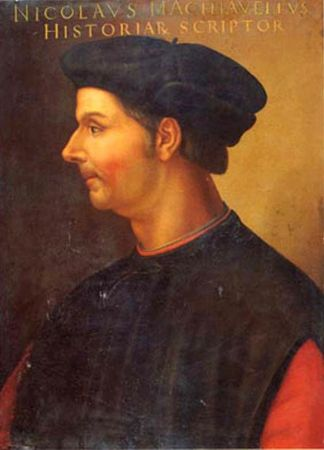 Cristofano dell'Altissimo, Portrait of Niccolò Machiavelli