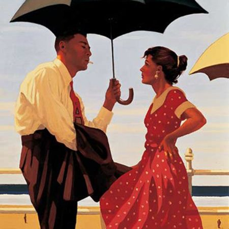 Jack Vettriano, Bad Boy, Good Girl