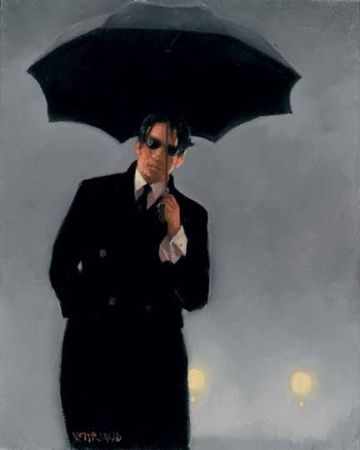 Jack Vettriano, Man Pursued