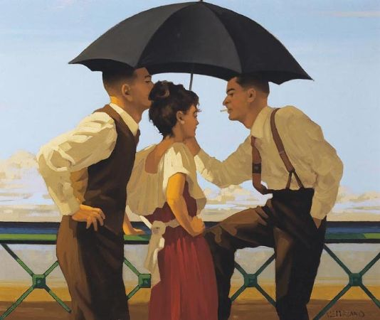 Jack Vettriano, The Tourist Trap II