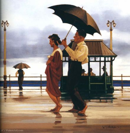 Jack Vettriano, Walking