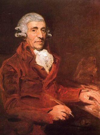 John Hoppner, Portrait of Franz Joseph Haydn, 1791-92