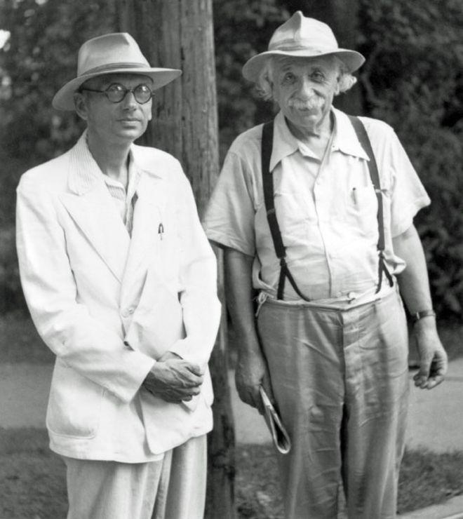 Kurt Gödel, Einstein