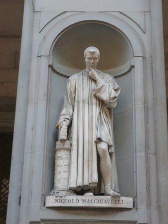 Lorenzo Bartolini, Machiavelli Heykeli, Floransa