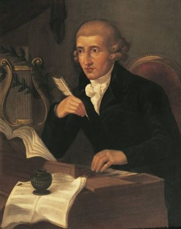 Ludwig Guttenbrunn, Portrait of Franz Joseph Haydn, 1791-92