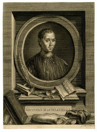 Machiavelli'nin 1772 tarihli gravürü