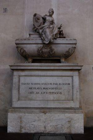 Machiavelli'nin mezarı