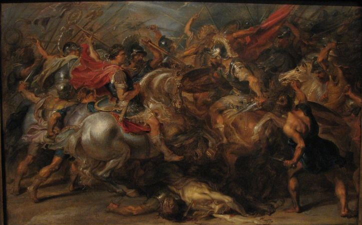 Peter Paul Rubens, The Battle of Constantine and Licinius, 17. yüzyıl
