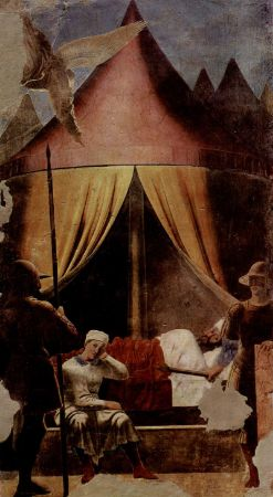 Piero Della Francesca, Constantine's Dream, 1460