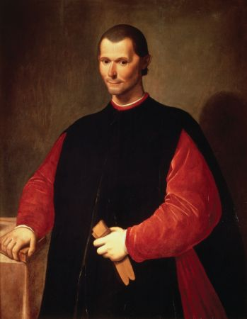 Santi di Tito, Portrait of Niccolò Machiavelli