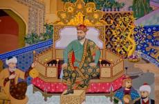 Timur ve İbn-i Hâldun'u gösteren bir minyatür (1)