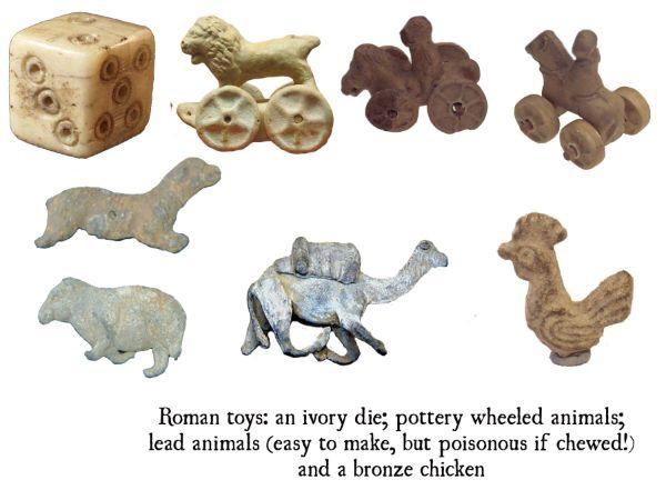 eski romada oyuncaklar