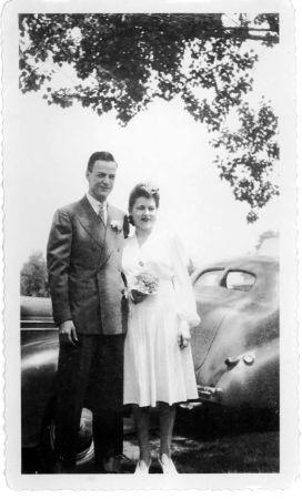 feynman ve arline, evlendikleri gun