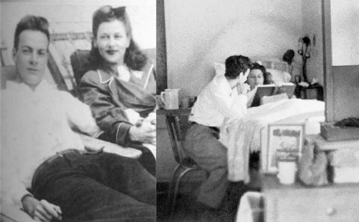 feynman ve arline sanatoryumda