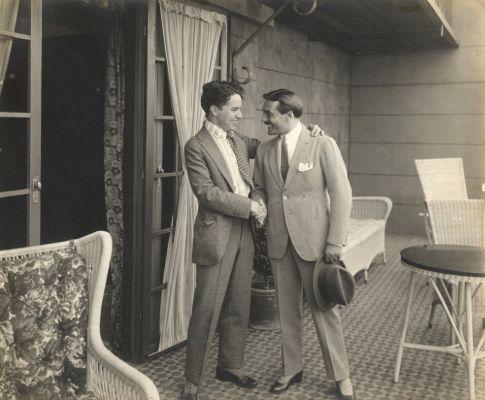 Charlie Chaplin, Max Linder, 1917