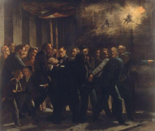 Howard Hill, Assassination of Lincoln, 1872