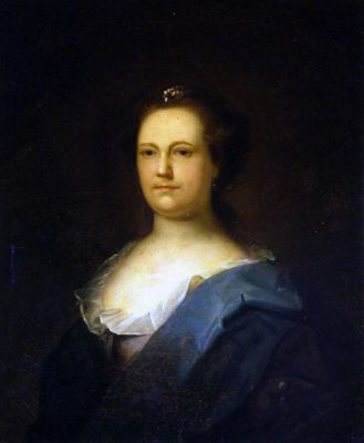 Benjamin Wilson, Portrait of Deborah Read, 1758-59