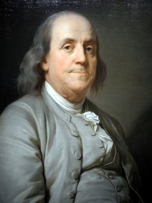 Joseph Siffred Duplessis, Portrait of Benjamin Franklin, 1785