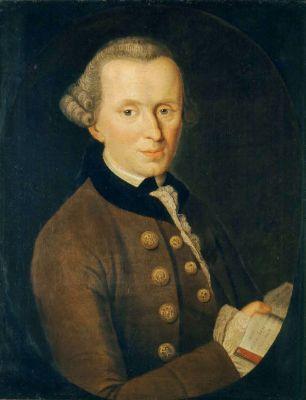 Johann Gottlieb Becker, Portrait of Kant, 1768