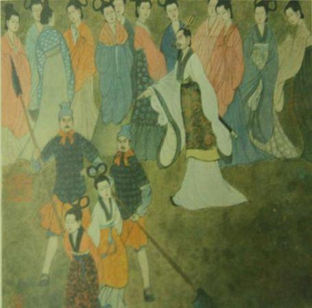Sun Tzu sarayda kadınları eğitirken