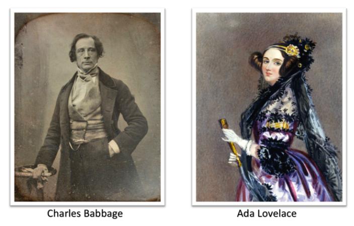 Charles Babbage ve Ada Lovelace