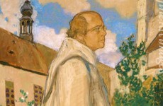 Ezuchevsky Mikhail Dmitrievich, Portrait of the Geneticist Johann Gregor Mendel, 1926 (3)
