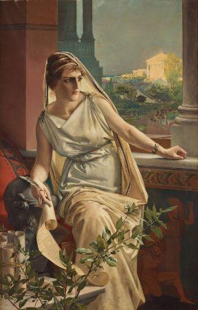 Julius Kronberg, Hypatia, 1889