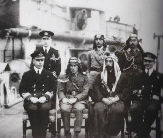 Lawrence ve  Kral Faysal