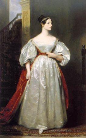 Margaret Sarah Carpenter, Portrait of Ada Lovelace, 1836