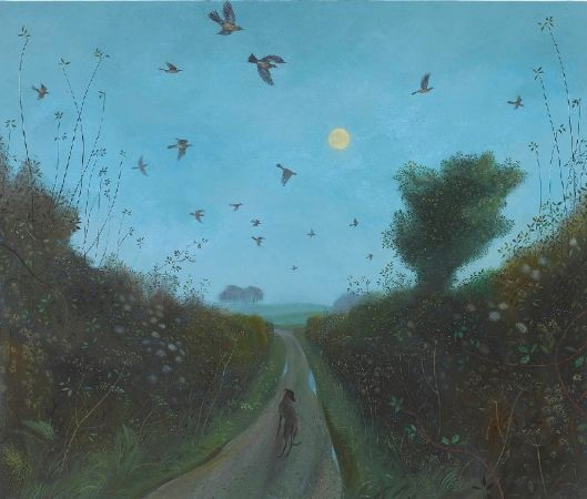 Nicholas Hely Hutchinson, Fieldfares and the Supermoon