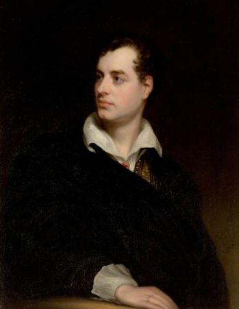 Thomas Phillips, Portrait of Byron, 1813