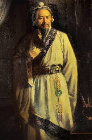 Çin Askeri Müzesinde Sun Tzu tablosu