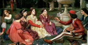 John William Waterhouse, A Tale from the Decameron, 1919