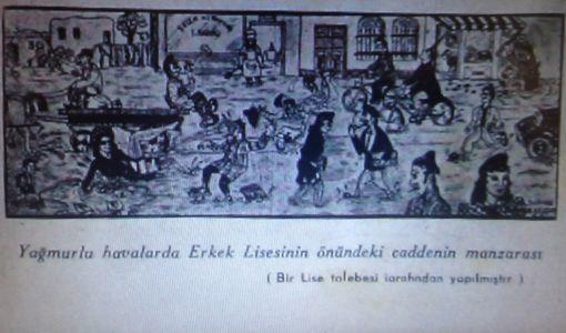 İlk Karikatürü