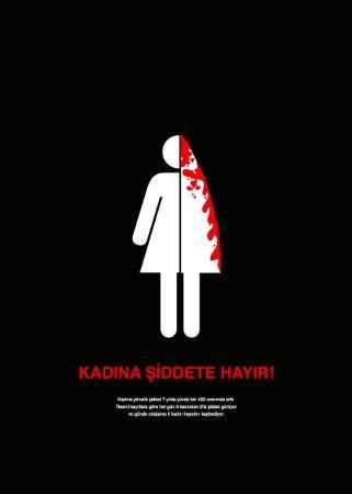 Kadına Şiddete Hayır