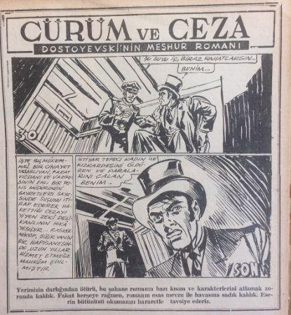 Suç Ve Ceza çizimi