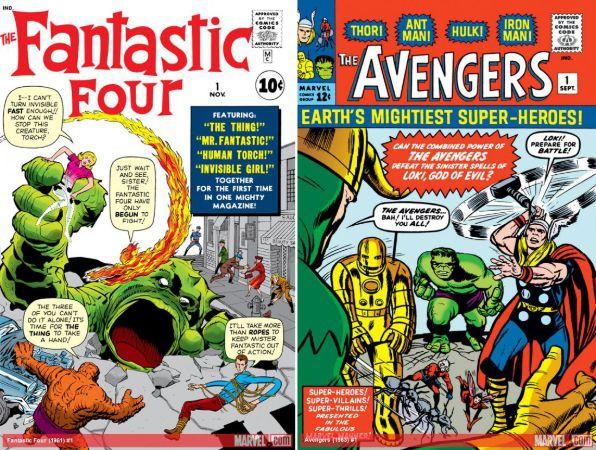 Fantastik Dörtlü ve Avengers (1)