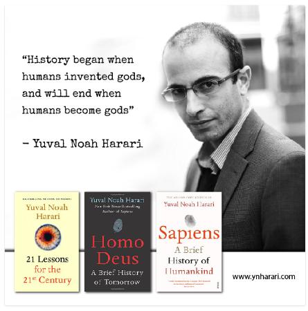Kitapları ve Harari