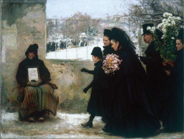 Émile Friant, All Saints' Day,