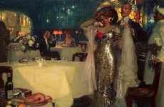 Charles C. J. Hoffbauer, In the Restaurant, (1)