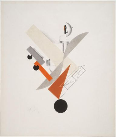 El Lissitzky, (Victory Over the Sun) Globetrotter