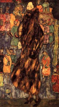 Polecat Fur Gustav Klimt