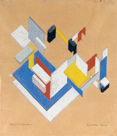 Theo Van Doesburg, Construction in Space-Time II,