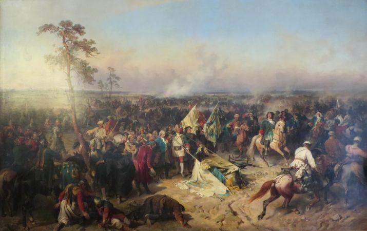 Alexander Kotsebue, Victory of Poltava