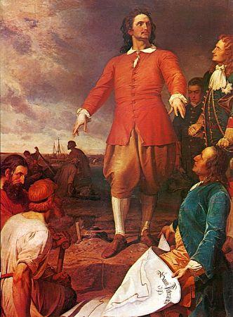 Alexander von Kotzebue, The founding of St. Petersburg by Peter the Great